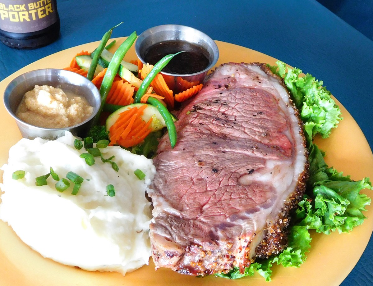 slow roasted seasoned prime rib slow roasted seasoned prime rib